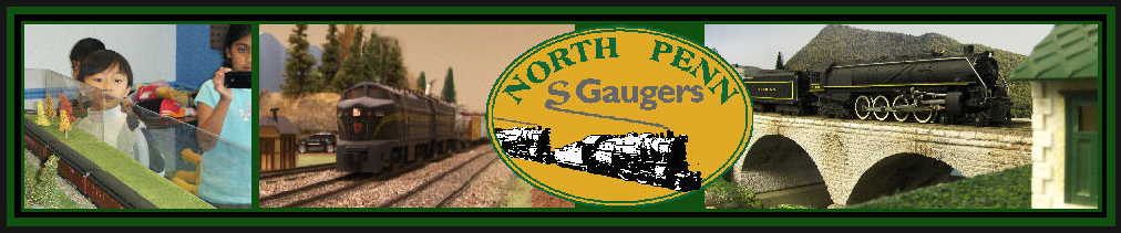 "North Penn Modular ""S"" Gauge Operating Layout"